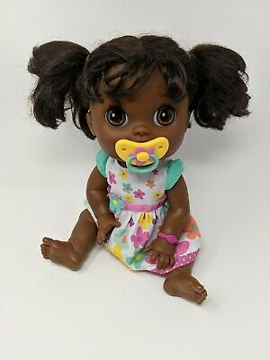 Baby Alive Real Surprises Doll Pacifier Dress Black African American 2012 Hasbro