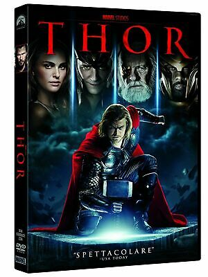 3 DVD nuovi sig THOR - THOR RAGNAROK-THOR THE DARK WORLD  MARVEL vers italy
