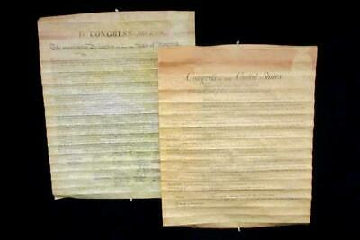 National Archives Declaration Of Independence And Bill Of Rights Posters