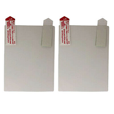 Clear screen protector for Game Boy Advance SP guard cover film 2 pack | ZedLabz