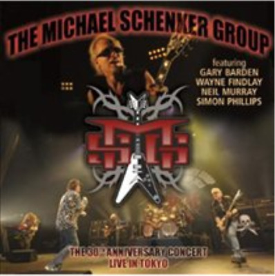 The Michael Schenker Group-The 30th Anniversary Concert (UK IMPORT) CD NEW