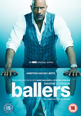 Ballers The Complete Fourth Season (UK IMPORT) DVD NEW