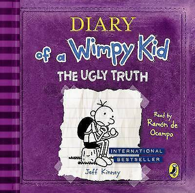 The Ugly Truth - Diary Of A Wimpy Kid CD Audiobook - Brand New & Sealed