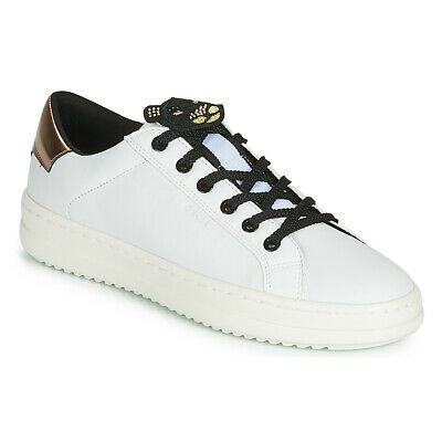 Sneakers   Scarpe donna Geox  D PONTOISE Bianco  15466487