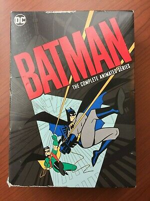 Batman The Complete Animated Series (DVD, 12-Disc Set) Free Shipping