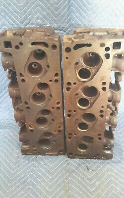REPAIRED AUSSIE FORD 351 Cleveland heads 2V Closed Chamber 351C Australian