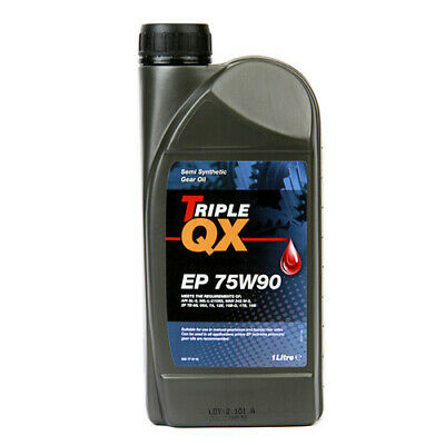 Triple QX 75W90 EP semi-synthetic 1L HIGH QUALITY Gearbox Oil Differential Oil
