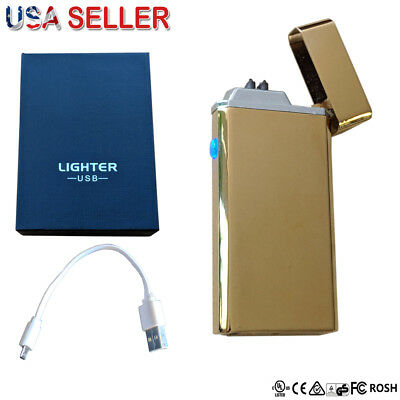 ❤️ Atomic USB Lighter Dual Arc Flameless Plasma Rechargeable Electronic Lighter