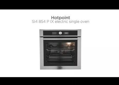 49567c0ae1ce NEW HOTPOINT SI4854PIX Built In Single Oven Electric Pyrolytic 60cm 13AMP  Plug
