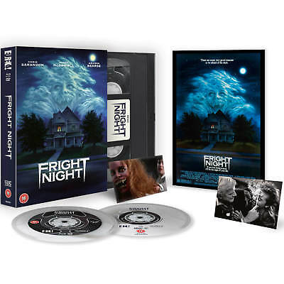 Fright Night (Noche De Miedo) Blu-Ray Limited Vintage Vhs Collector's Edition,Uk