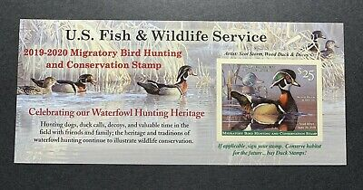 WTDstamps - #RW86A 2019 - 2020 - US Federal Duck Stamp - Post Office FRESH