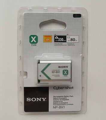 Original Sony Battery NP-BX1 For HDR-AS15 AS10 HX300 WX300 Cyber-Shot RX100 RX1