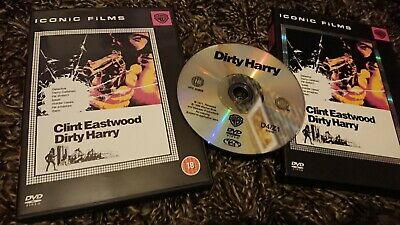 Dirty Harry (DVD, 2005) Iconic Films Edition, Clint Eastwood
