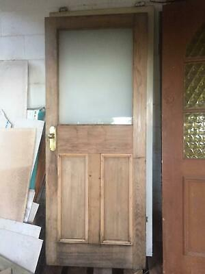 Solid Timber Glass Door 2010x810x35