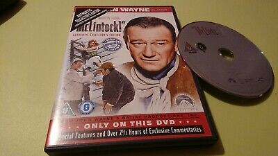 McLintock (DVD, 2007) Authentic Collector's Edition, John Wayne Collection