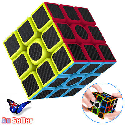 3x3x3 Smooth Speed Magic Rubiks Cube Puzzle Easy Twist Educational Gift Toys AU