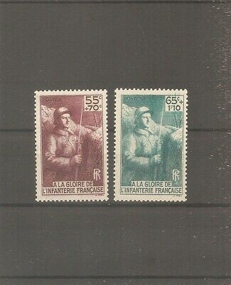 Timbre France Frankreich 1938 N°386/387 Neuf** Mnh