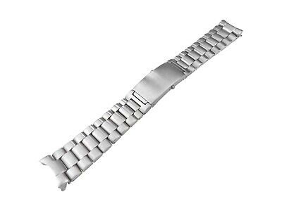 20mm Solid Stainless Steel Strap Bracelet compatible with OMEGA SeaMaster Watch
