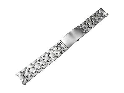 18mm Solid Stainless Steel Strap Bracelet compatible with OMEGA SeaMaster Watch
