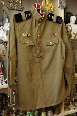 Vintage Soviet Russian military uniform army soldier jacket SA of the USSR 1967