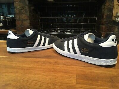 really comfortable check out skate shoes MENS DARK BLUE Adidas Gazelle Og Size 7 Great Used Condition ...