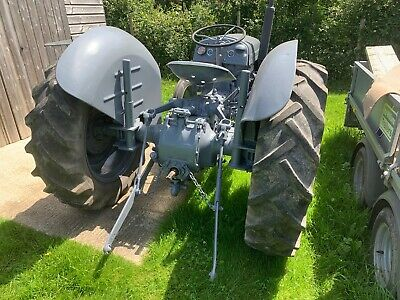 1955 Grey fergie TED20 tractor, petrol / TVO, road registered currently SORN