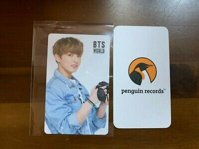 Bts - World Ost Jungkook Double Sided Photo Card