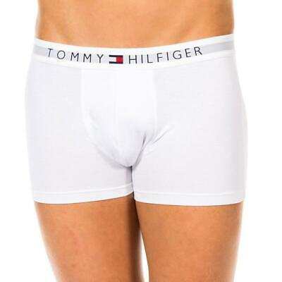 Tommy Hilfiger  Men's Underwear Cotton stretch Trunks,(3-Pack) White
