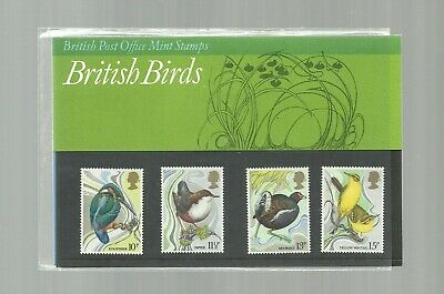 Great Britain 1980 PRESENTATION PACK BIRDS MNH