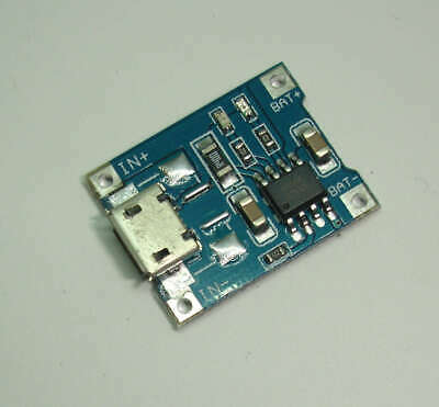 TP4056 Lithium Battery Charging Board 1A micro USB
