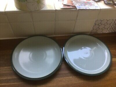 Denby Everyday Teal Dessert/Salad  Plates X2
