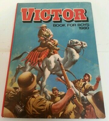 ANNUAL - Vintage The Victor Book For Boys 1980 Hardback Children's  Book Retro