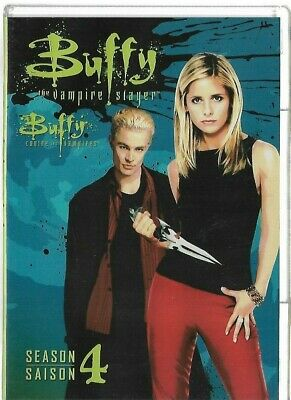 Sealed New DVD - TV Series - BUFFY THE VAMPIRE SLAYER Season 4  Also In French
