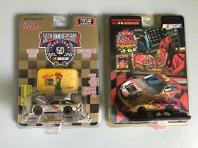 Racing Champions NASCAR Terry Labonte #5 1:64 Scale 3-D & 1998 Gold Series lot