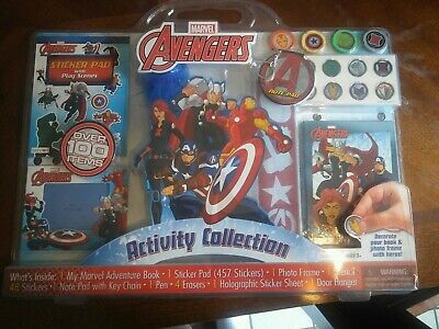 Marvel Avengers Activity Collection Set - Over 100 Items - Brand New
