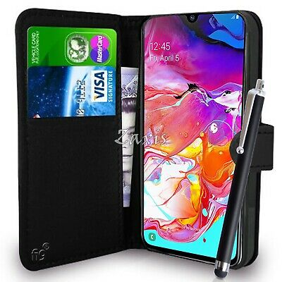 Wallet Case Pouch PU Leather Cover For Samsung Galaxy A20,A30,A40,A70,A10s,A20s