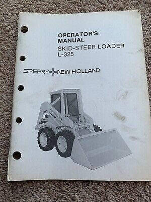 NEW HOLLAND LX985 Skidsteer Operator Manual - $20 99 | PicClick