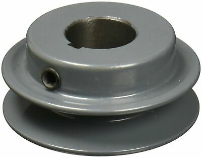 "TB WOODS 7//8/"" Fixed Bore 1 Groove V-Belt Pulley 2.55/"" OD ***USA SELLER ***AK2578"