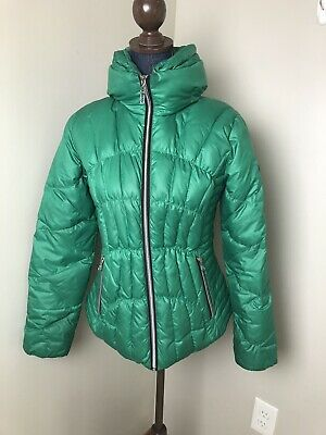 e2e02381f GUESS DOWN QUILTED Puffer Jacket/ Coat Red Womens M Nwt - $49.99 ...