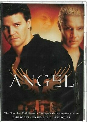 Sealed New - DVD - TV Series - ANGEL - Season 5 - Also In French