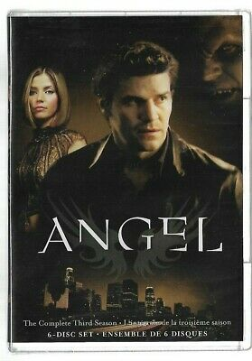 Sealed New - DVD - TV Series - ANGEL - Season 3 - Also In French