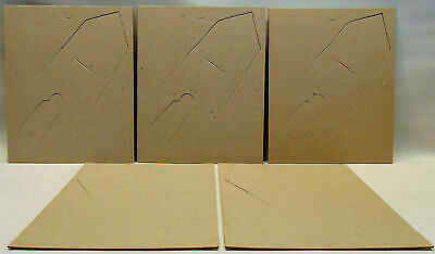 "11"" x 9"" 28cm x 23cm Cardboard Pre-Cut for Picture Frame Back Pack of 5, Framing"