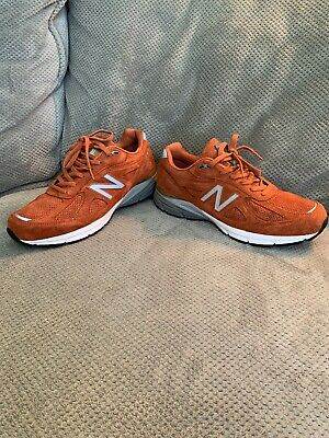 Details about New Balance M990 JP4 Sneakers Orange Size 7 8 9 10 11 Mens Shoes New