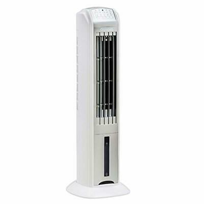 Water Tank Air Cooler 4L With Remote Control Timer And Silent Mode White New