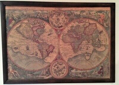 World map by Mercator Rumold, from mid-late 1700's to early 1800s, Appraised
