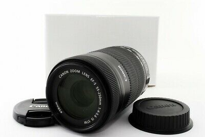 Canon EF-S 55-250mm f/4-5.6 IS STM Telephoto Lens [Exc+++] w/Box Japan [jkh]