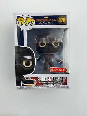 Funko Pop Marvel Spider-Man Far From Home Stealth Suit Target Exclusive IN HAND