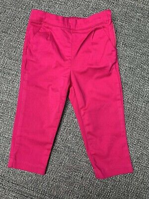 Janie and Jack Baby Girls Pink Pants, size 18-24 Months cotton