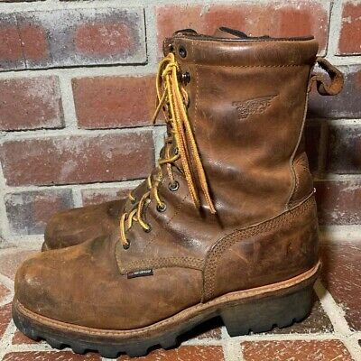 6c6915be45f RED WING STOCK #4417 Steel Toe Loggermax Safety Work Boot Men's Size ...