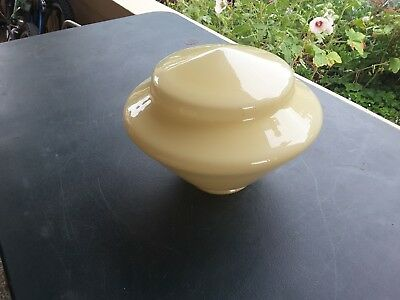 Original  Art Deco  Glass Light Shade  - Ceiling